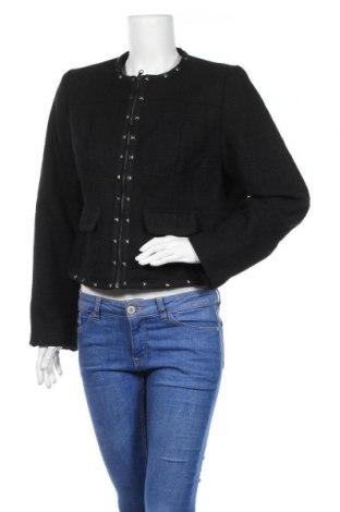 Дамско яке Flame, Размер XL, Цвят Черен, Полиестер, Цена 7,61лв.