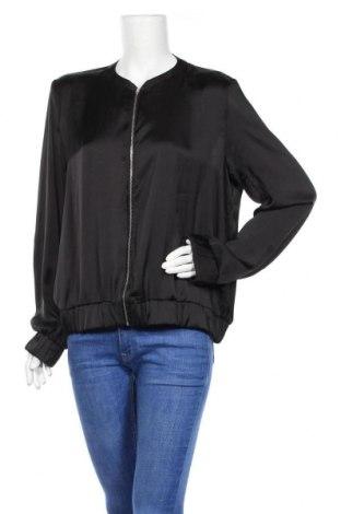 Дамско яке Gina Tricot, Размер XL, Цвят Черен, Полиестер, Цена 21,16лв.