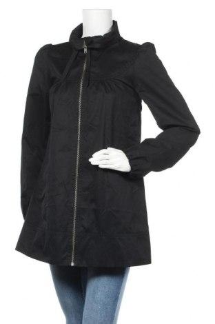 Дамско яке H&M, Размер S, Цвят Черен, 65% полиестер, 35% памук, Цена 20,16лв.