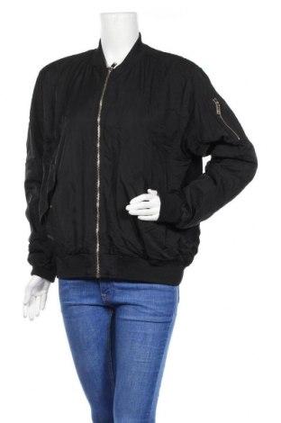 Дамско яке H&M, Размер L, Цвят Черен, Полиестер, Цена 23,10лв.