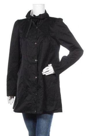 Дамско яке H&M, Размер L, Цвят Черен, 65% полиестер, 35% памук, Цена 28,35лв.