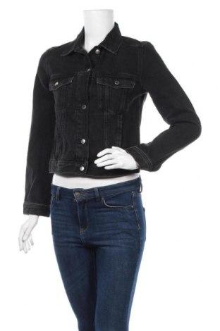 Дамско яке H&M Divided, Размер XS, Цвят Черен, Памук, Цена 24,57лв.