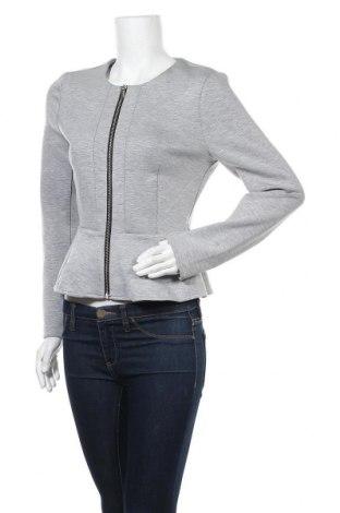 Дамско яке H&M Divided, Размер L, Цвят Сив, 84% полиестер, 10% вискоза, 6% еластан, Цена 9,45лв.
