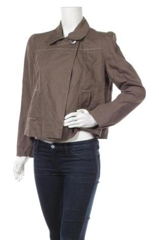 Дамско яке Jacqueline Riu, Размер L, Цвят Кафяв, 55% памук, 45% лен, Цена 13,44лв.
