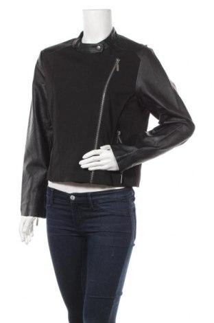 Дамско яке Lindex, Размер L, Цвят Черен, Полиестер, еластан, еко кожа, Цена 25,83лв.