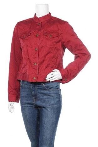 Дамско яке Liz Claiborne, Размер L, Цвят Червен, Памук, Цена 18,90лв.