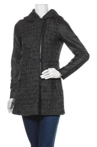 Дамско яке ONLY, Размер S, Цвят Черен, 80% полиестер, 20% вълна, еко кожа, Цена 124,95лв.