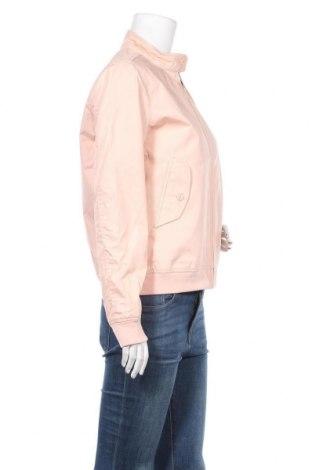 Дамско яке Schott, Размер L, Цвят Розов, 65% полиестер, 35% памук, Цена 66,15лв.