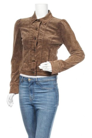 Дамско яке Vero Moda, Размер XS, Цвят Кафяв, 97% памук, 3% еластан, Цена 17,01лв.