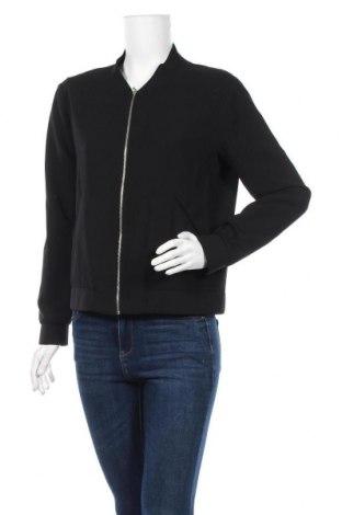 Дамско яке Zara, Размер S, Цвят Черен, Цена 14,18лв.