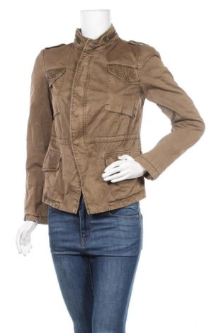 Дамско яке Zara, Размер M, Цвят Кафяв, Цена 85,68лв.