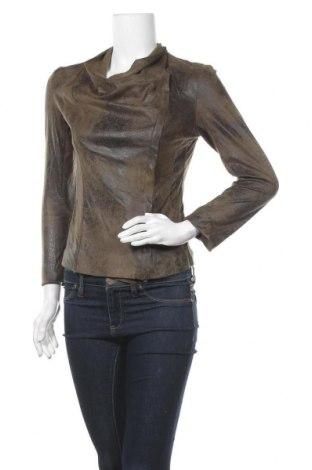Дамско яке Zara, Размер S, Цвят Зелен, Цена 20,21лв.