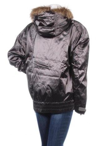Дамско яке за зимни спортове Burton, Размер L, Цвят Сив, Полиамид, Цена 118,47лв.