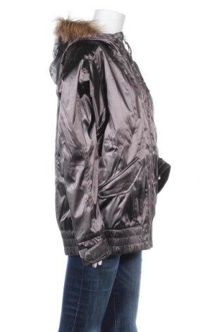 Дамско яке за зимни спортове Burton, Размер L, Цвят Сив, Полиамид, Цена 100,52лв.