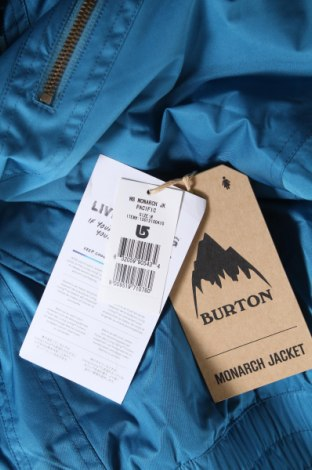 Дамско яке за зимни спортове Burton, Размер M, Цвят Син, Полиестер, Цена 100,52лв.