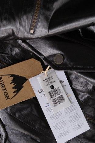 Дамско яке за зимни спортове Burton, Размер S, Цвят Сив, Полиамид, Цена 100,52лв.