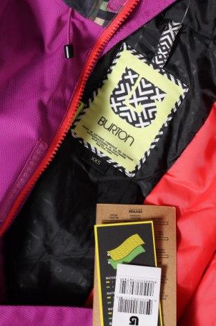Дамско яке за зимни спортове Burton, Размер XXS, Цвят Многоцветен, Полиамид, Цена 121,77лв.