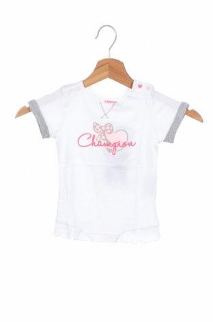 Παιδική μπλούζα Champion, Μέγεθος 9-12m/ 74-80 εκ., Χρώμα Λευκό, Βαμβάκι, Τιμή 10,05€
