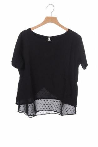 Bluză pentru copii Kaporal, Mărime 14-15y/ 168-170 cm, Culoare Negru, Poliester, Preț 18,78 Lei