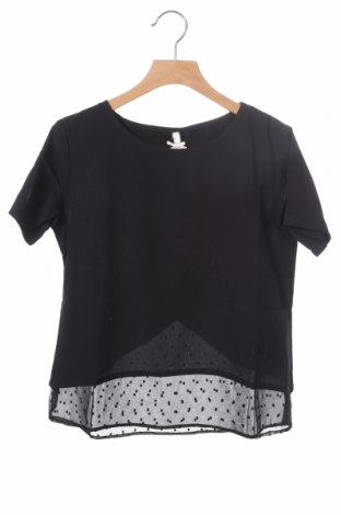 Παιδική μπλούζα Kaporal, Μέγεθος 9-10y/ 140-146 εκ., Χρώμα Μαύρο, Πολυεστέρας, Τιμή 25,24€