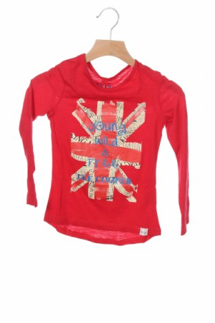Детска блуза Lee Cooper, Размер 5-6y/ 116-122 см, Цвят Червен, Памук, Цена 12,87лв.