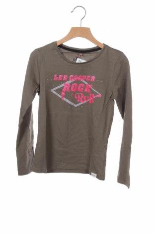 Παιδική μπλούζα Lee Cooper, Μέγεθος 9-10y/ 140-146 εκ., Χρώμα Πράσινο, Βαμβάκι, Τιμή 5,57€
