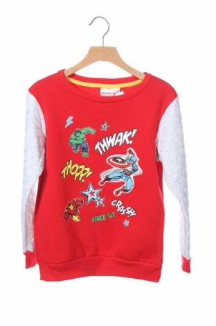 Παιδική μπλούζα Marvel, Μέγεθος 7-8y/ 128-134 εκ., Χρώμα Κόκκινο, 65% πολυεστέρας, 35% βαμβάκι, Τιμή 16,24€