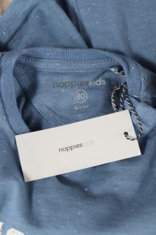 Παιδική μπλούζα Noppies, Μέγεθος 9-12m/ 74-80 εκ., Χρώμα Μπλέ, 60% βαμβάκι, 40% πολυεστέρας, Τιμή 5,20€
