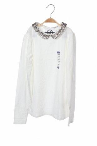 Παιδική μπλούζα Okaidi, Μέγεθος 11-12y/ 152-158 εκ., Χρώμα Λευκό, 95% βαμβάκι, 5% ελαστάνη, Τιμή 9,74€