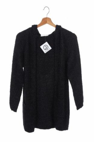 Παιδική ζακέτα Design By Kappahl, Μέγεθος 10-11y/ 146-152 εκ., Χρώμα Μαύρο, 66% πολυαμίδη, 34%ακρυλικό, Τιμή 13,64€