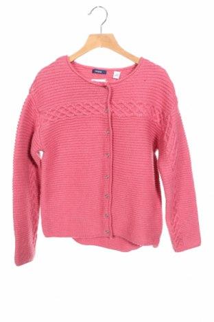 Παιδική ζακέτα Okaidi, Μέγεθος 9-10y/ 140-146 εκ., Χρώμα Ρόζ , 77% πολυεστέρας, 10%ακρυλικό, 8% μαλλί, 3% πολυεστέρας, 2% μεταλλικά νήματα, Τιμή 13,68€