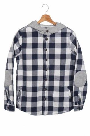 Детска риза Here+There, Размер 15-18y/ 170-176 см, Цвят Син, 92% памук, 8% вискоза, Цена 12,97лв.