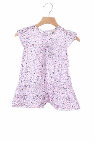 Детска рокля Grain De Ble, Размер 9-12m/ 74-80 см, Цвят Многоцветен, Памук, Цена 23,10лв.