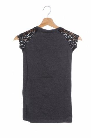 Παιδικό φόρεμα Lulu Castagnette, Μέγεθος 5-6y/ 116-122 εκ., Χρώμα Γκρί, 60% βαμβάκι, 40% πολυεστέρας, Τιμή 12,57€