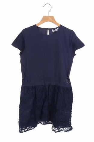 Παιδικό φόρεμα Lulu Castagnette, Μέγεθος 11-12y/ 152-158 εκ., Χρώμα Μπλέ, Πολυεστέρας, ελαστάνη,ακρυλικό, Τιμή 11,55€