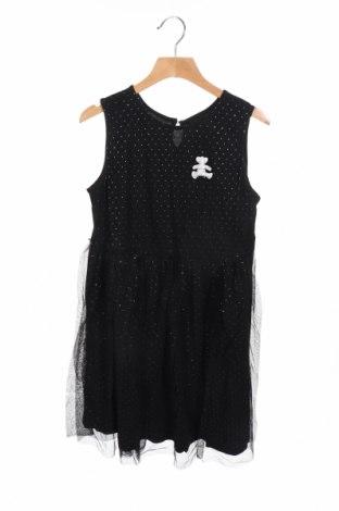Παιδικό φόρεμα Lulu Castagnette, Μέγεθος 11-12y/ 152-158 εκ., Χρώμα Μαύρο, 100% πολυαμίδη, Τιμή 11,56€