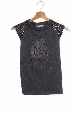 Παιδικό φόρεμα Lulu Castagnette, Μέγεθος 3-4y/ 104-110 εκ., Χρώμα Γκρί, 60% βαμβάκι, 40% πολυεστέρας, Τιμή 12,57€