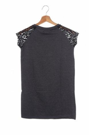 Παιδικό φόρεμα Lulu Castagnette, Μέγεθος 11-12y/ 152-158 εκ., Χρώμα Γκρί, 60% βαμβάκι, 40% πολυεστέρας, Τιμή 11,37€