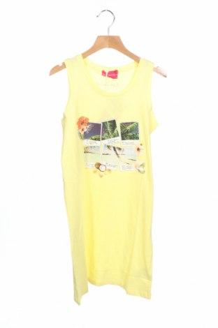 Παιδικό φόρεμα Lulu Castagnette, Μέγεθος 10-11y/ 146-152 εκ., Χρώμα Κίτρινο, 100% βαμβάκι, Τιμή 13,89€