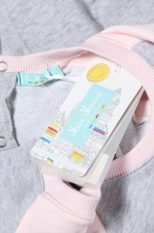 Παιδικό φόρεμα Mini Marcel, Μέγεθος 12-18m/ 80-86 εκ., Χρώμα Γκρί, Βαμβάκι, Τιμή 6,80€