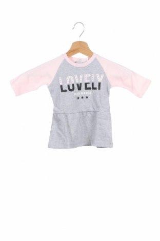 Παιδικό φόρεμα Mini Marcel, Μέγεθος 3-6m/ 62-68 εκ., Χρώμα Γκρί, Βαμβάκι, Τιμή 6,80€