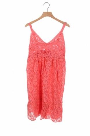 Παιδικό φόρεμα Mini Molly, Μέγεθος 12-13y/ 158-164 εκ., Χρώμα Ρόζ , Βαμβάκι, πολυαμίδη, βισκόζη, Τιμή 10,10€