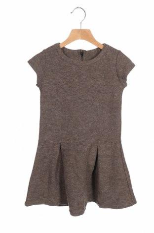 Παιδικό φόρεμα Vanille & Chocolat, Μέγεθος 7-8y/ 128-134 εκ., Χρώμα Καφέ, 50% βαμβάκι, 45% πολυεστέρας, 5% ελαστάνη, Τιμή 7,60€