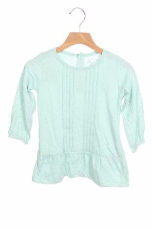 Παιδικό φόρεμα ZY kids, Μέγεθος 18-24m/ 86-98 εκ., Χρώμα Μπλέ, 61% βαμβάκι, 39% πολυεστέρας, Τιμή 10,21€