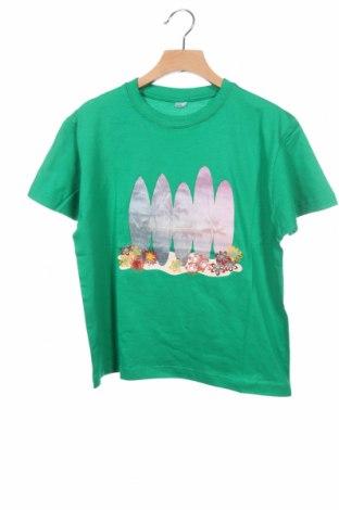 Παιδικό μπλουζάκι, Μέγεθος 8-9y/ 134-140 εκ., Χρώμα Πράσινο, Τιμή 8,78€