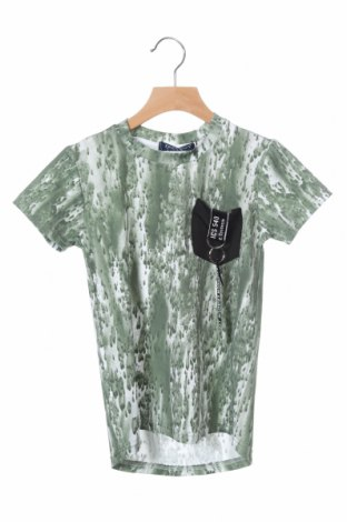 Παιδικό μπλουζάκι, Μέγεθος 3-4y/ 104-110 εκ., Χρώμα Πράσινο, 95% πολυεστέρας, 5% ελαστάνη, Τιμή 7,65€