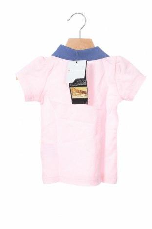Παιδικό μπλουζάκι Champion, Μέγεθος 9-12m/ 74-80 εκ., Χρώμα Ρόζ , 52% βαμβάκι, 48% πολυεστέρας, Τιμή 9,40€