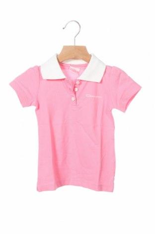 Dětské tričko  Champion, Velikost 9-12m/ 74-80 cm, Barva Růžová, 52% bavlna, 48% polyester, Cena  105,00Kč