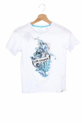 Παιδικό μπλουζάκι Lee Cooper, Μέγεθος 9-10y/ 140-146 εκ., Χρώμα Λευκό, Βαμβάκι, Τιμή 7,22€