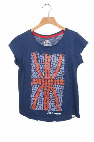 Детска тениска Lee Cooper, Размер 10-11y/ 146-152 см, Цвят Син, Памук, Цена 12,60лв.